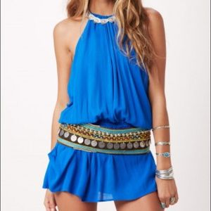 Island Halter Dress | Planet Blue